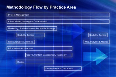 Methodology Flow by Practice Area